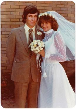 Narrelle's Wedding Photo