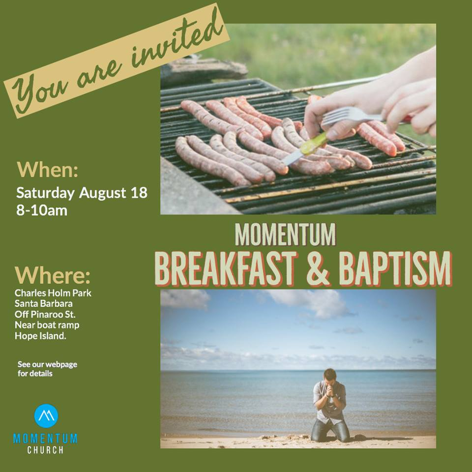Breakfast And Baptism